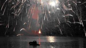 Fuochi d'artificio di Rapallo